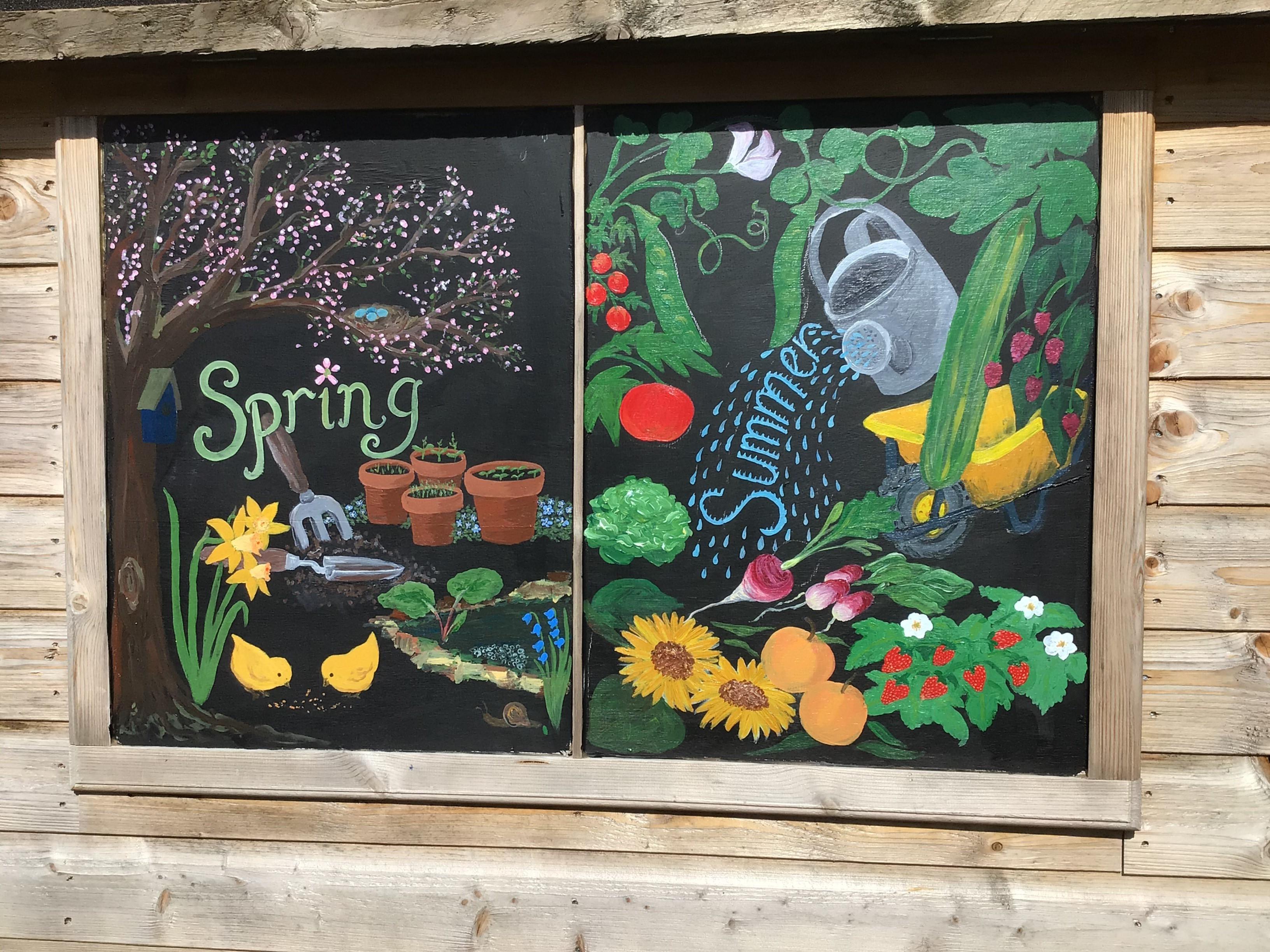 designs on potting shed